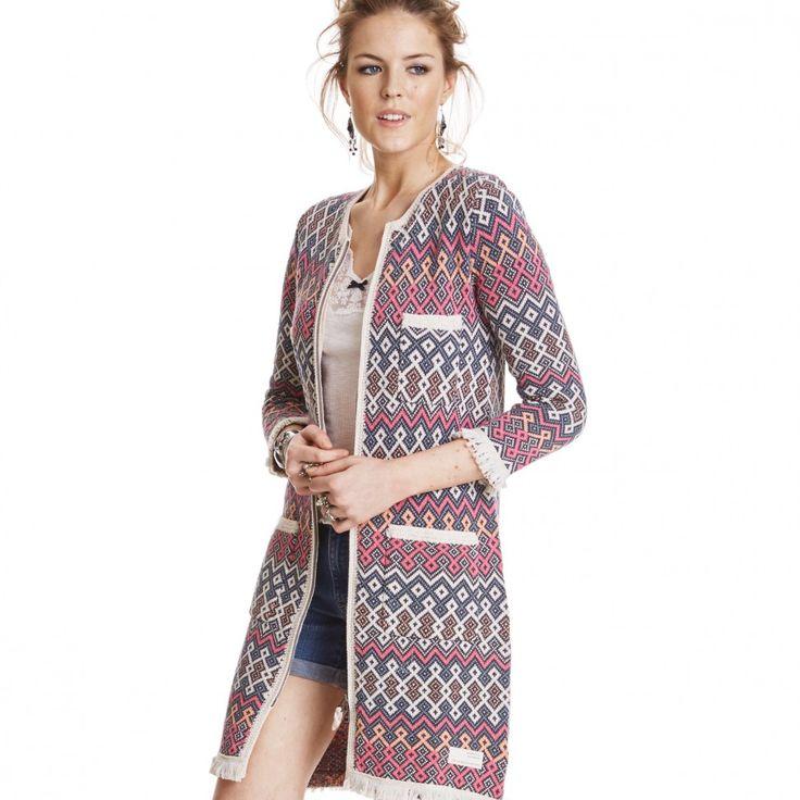 Odd Molly chillax knit coat MULTI
