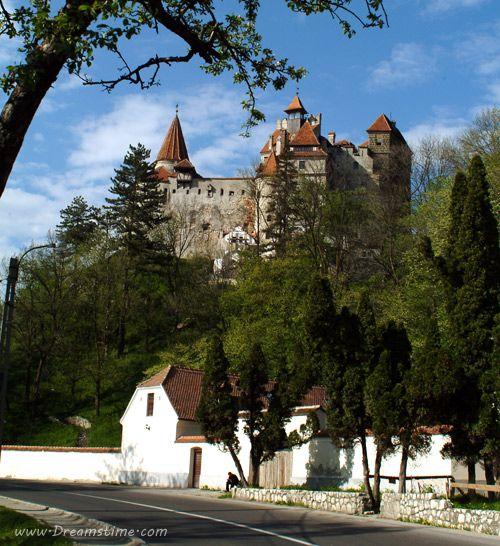 Bran (Dracula) Castle Image - Near Brasov, Transylvania, Romania