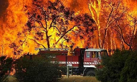 A close for comfort, NSW Bush Fires October 2013