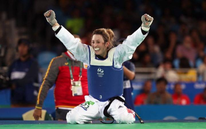 Jade Jones wins Taekwondo gold medal at Rio Olympics 2016 as GB star recreates…