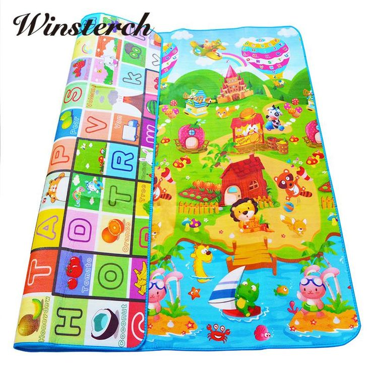 Plus Size Double-side Baby Soft Play Mat Infant Crawling Activity Mat Newborn Playing Mat Cushion Pad Carpet Rug Gifts SL014