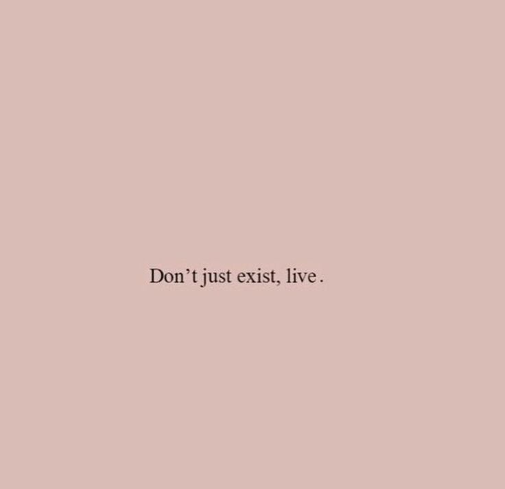 Don't just exit, live #words