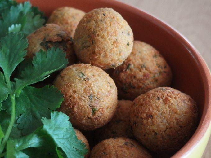 ひよこ豆のオーガニックコロッケ「ファラフェル Falafel」
