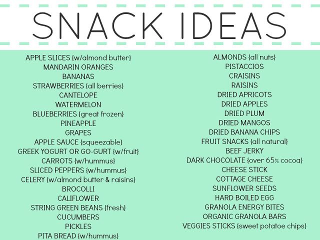 I am loving these healthy snack ideas from Simply Sadie Jane!! She has breakfast, lunch and dinner ideas too!