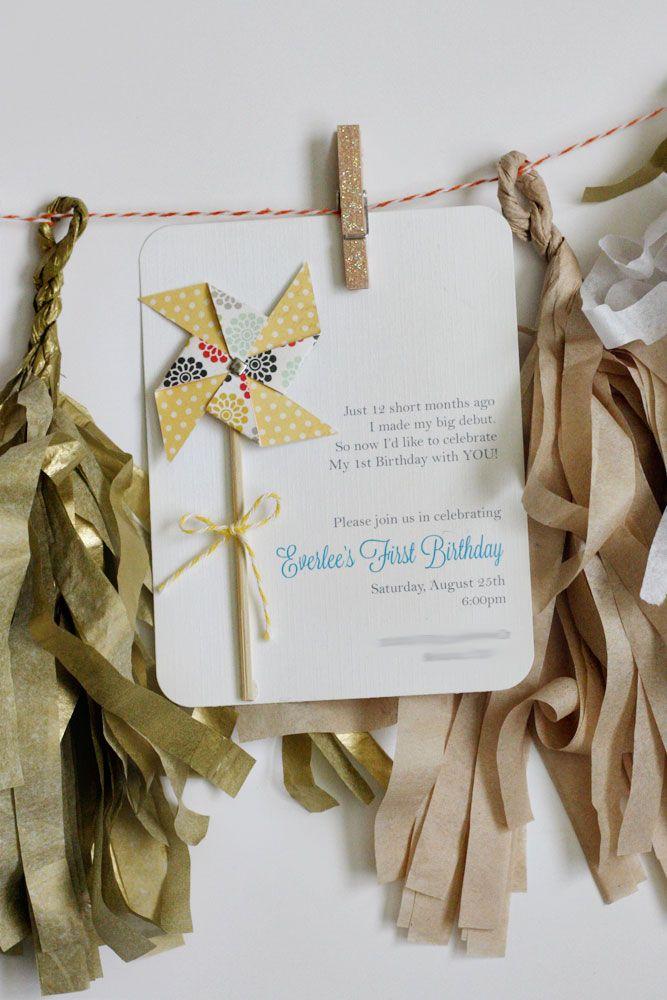 15 best DIY Party Invitations images on Pinterest Birthday parties - fresh birthday invitation video templates