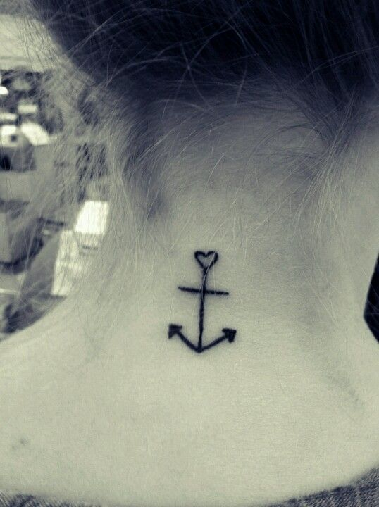 28 Cute Anchor Tattoo Designs