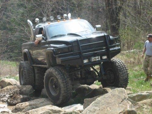 F Ddcda D Ea B on Lifted Dakota Quad Cab