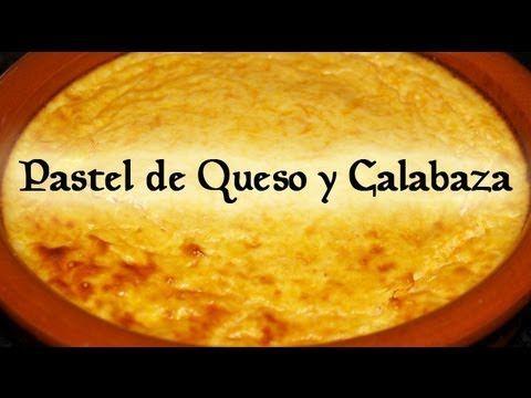 Pastel de Queso y Calabaza Dukan (Exquisito!!!) - Pumpkin Cheesecake Pie - Receta Fase Crucero - YouTube