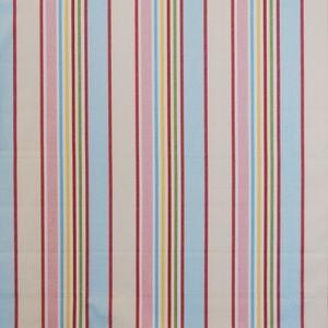 Addison Chintz 100% Cotton 137cm |Vertical Stripe Curtaining