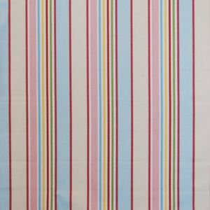 Addison Chintz 100% Cotton 137cm | Vertical Stripe Curtaining