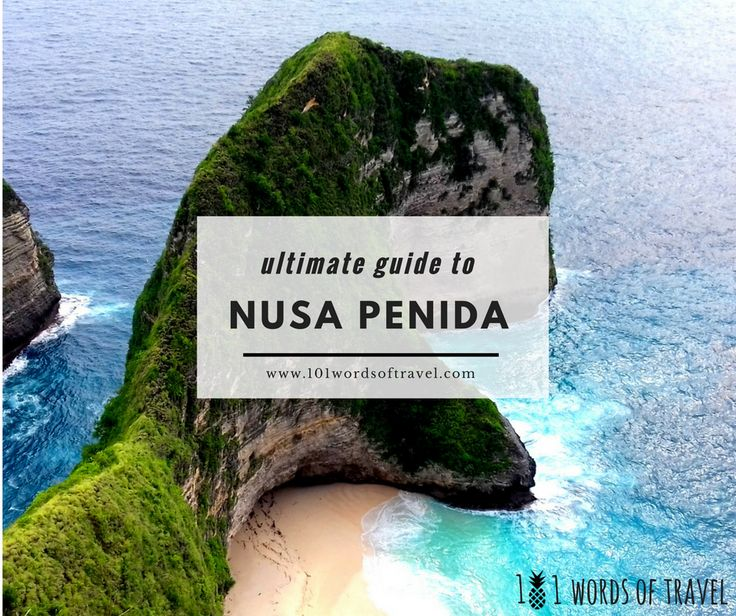 Ultimate guide to #NusaPenida. Check Top 6 things to do in this amazing indonesia island. #bali #travel