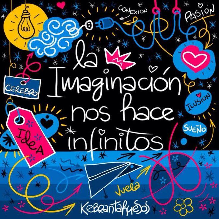 A través de la #imaginación podemos crear esa vida que tengo anhelamos y queremos #TuVidaTuCreación