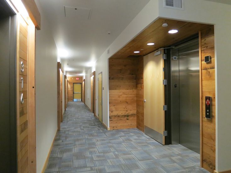Central Eastside Lofts - Elevator Lobby | Interior Design ...