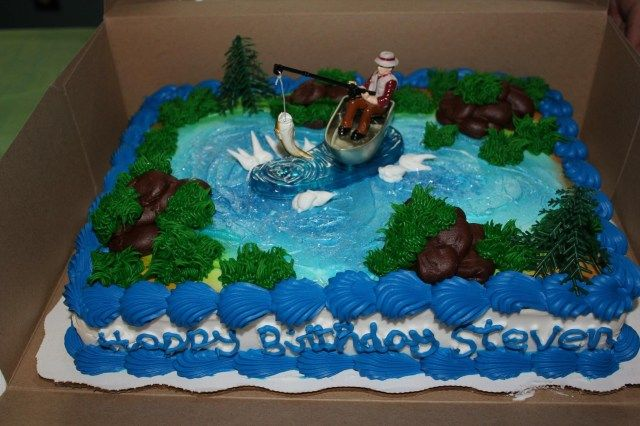 25 Wonderful Picture Of Walmart Birthday Cakes Kids Fishing Theme Cake Bakery 20 Im Hungry