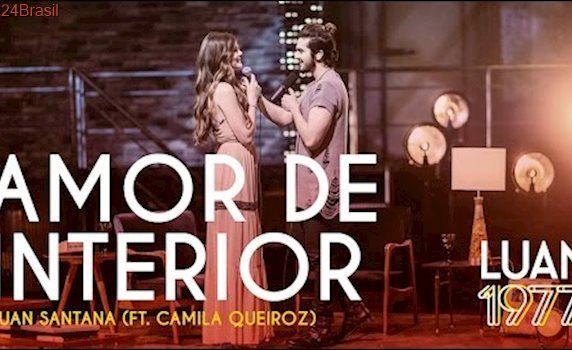 Luan Santana - Amor de Interior ft Camila Queiroz (DVD 1977)