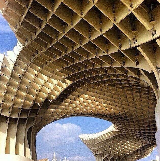 Metropol Parasol #Sevilla#Jurgen Mayer