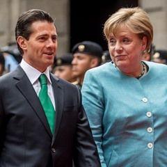 German Chancellor Angela Merkel meets with Mexican President Enrique Pena in Mexico City