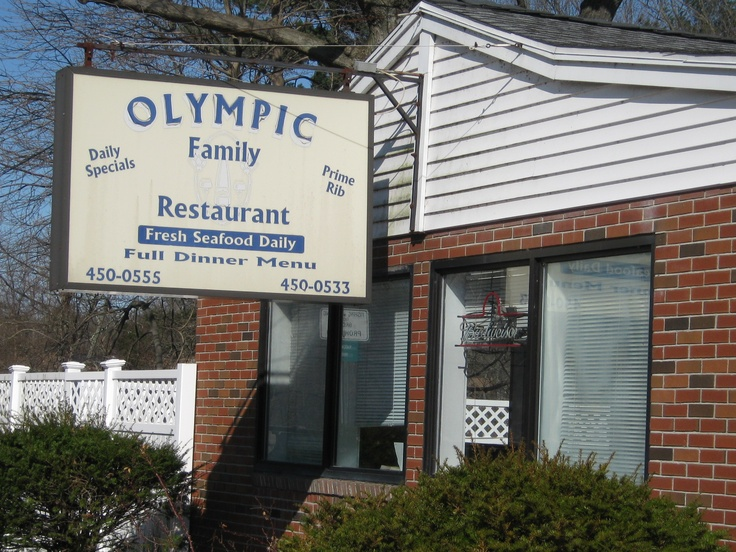 Olympic Restaurant, 58 Boston Post Rd, Willimantic, CT.