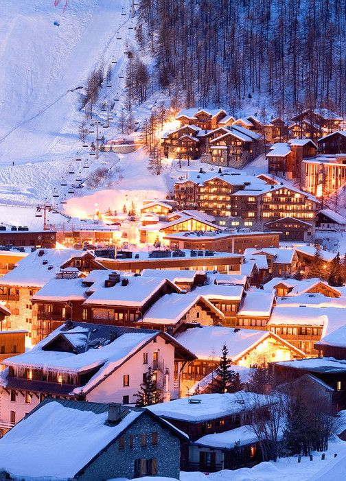 Val d'Isere, France #travel #destination #places