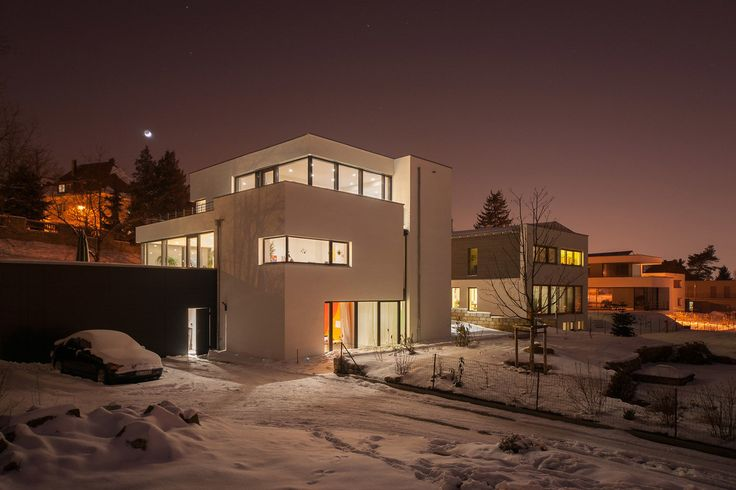 Wohnhaus in dresden moderne häuser von architekturfotografie