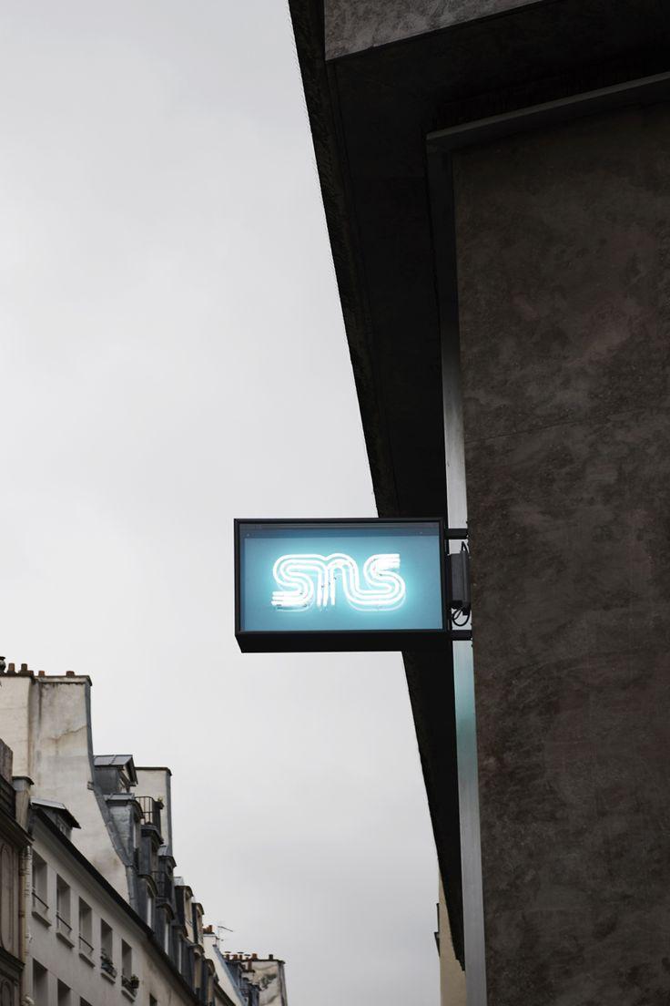 #retail #sneakersnstuff #paris #bofinkdesignstudio