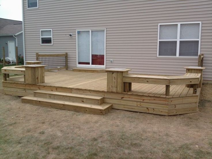 best 25+ deck benches ideas on pinterest | deck bench seating ... - Deck And Patio Design