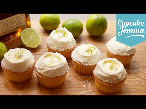 Margarita cupcake recipe | Cupcake Jemma - YouTube
