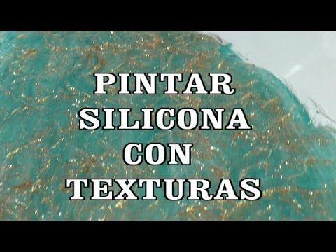M DIY COMO PINTAR SILICONA CON TEXTURAS