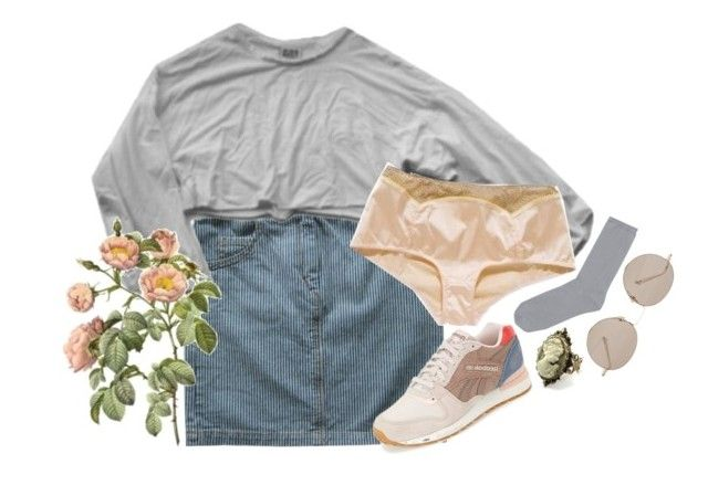 """""""Untitled #715"""" by blueb0y ❤ liked on Polyvore featuring Isabel Marant, My Mum Made It, Reebok, Uniqlo, Gucci and Cameo"""