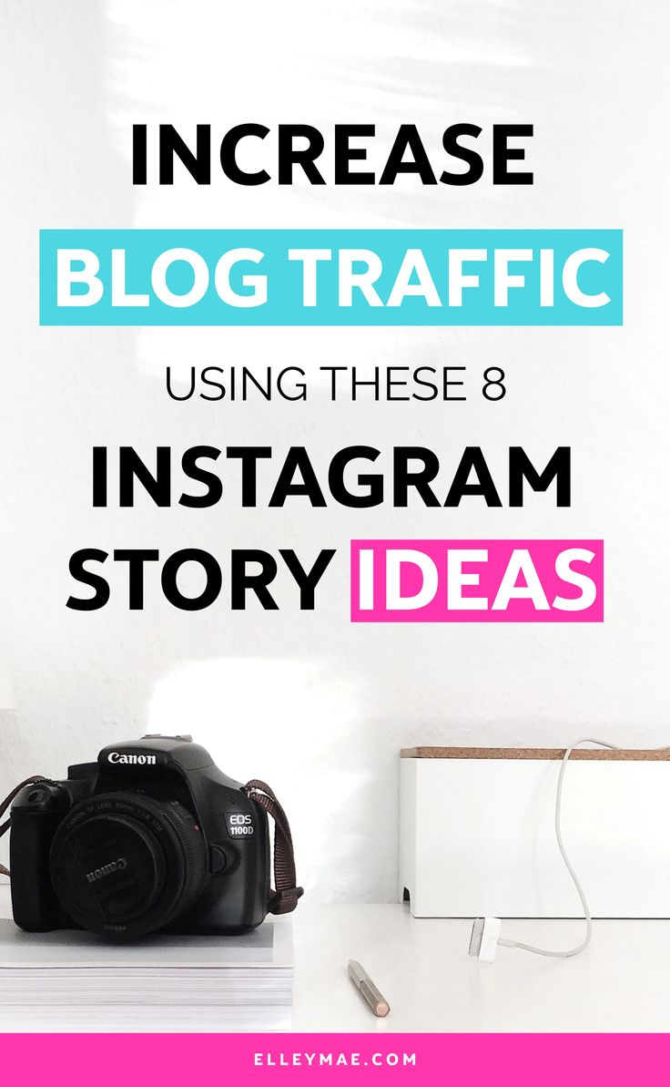 Want to learn how to grow your blog with Instagram stories? Well chick, you've come to the right place. In this post is a collection of 8 of the best ways to use Instagram stories to grow your blog - fun, fabulous & freakin' exciting! (Oh & they ACTUALLY WORK!) Learn more at ElleyMae.com   #instagram #instagrammarketing #growyourblog #instagramstory #instagramstories   Grow Your Blog   Instagram Marketing   Instagram Stories   Instagram Influencer