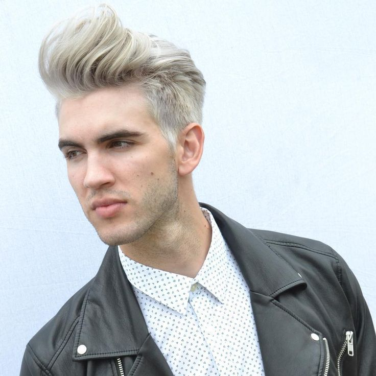awesome 55 Examples of Stunning Bleached Hair for Men - How to Care at Home Check more at http://machohairstyles.com/best-bleached-hair/