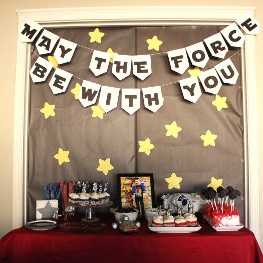 star wars birthday party free printables - Star Wars Party Decorations