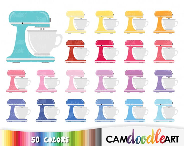 50 Mixer Clipart Stand MixerCake MixerBaking Clipart