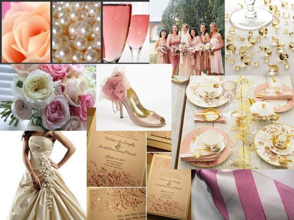 Pink Champagne Color Scheme | Wedding Tips and Inspiration
