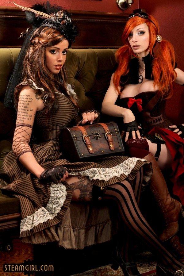 #SteamPUNK ☮k☮ girls