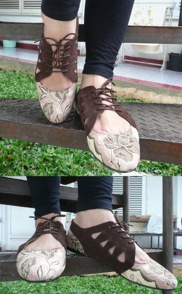 Indonesian batik shoes kulkithshoes.com