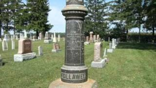 Donegal Cemetery, Perth County Ontario, via YouTube.