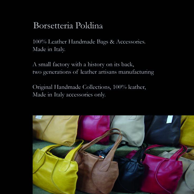 Borsetteria Poldina Catalogo Collezioni (introduzione) @STUDIO389C Online & Offline vicenza