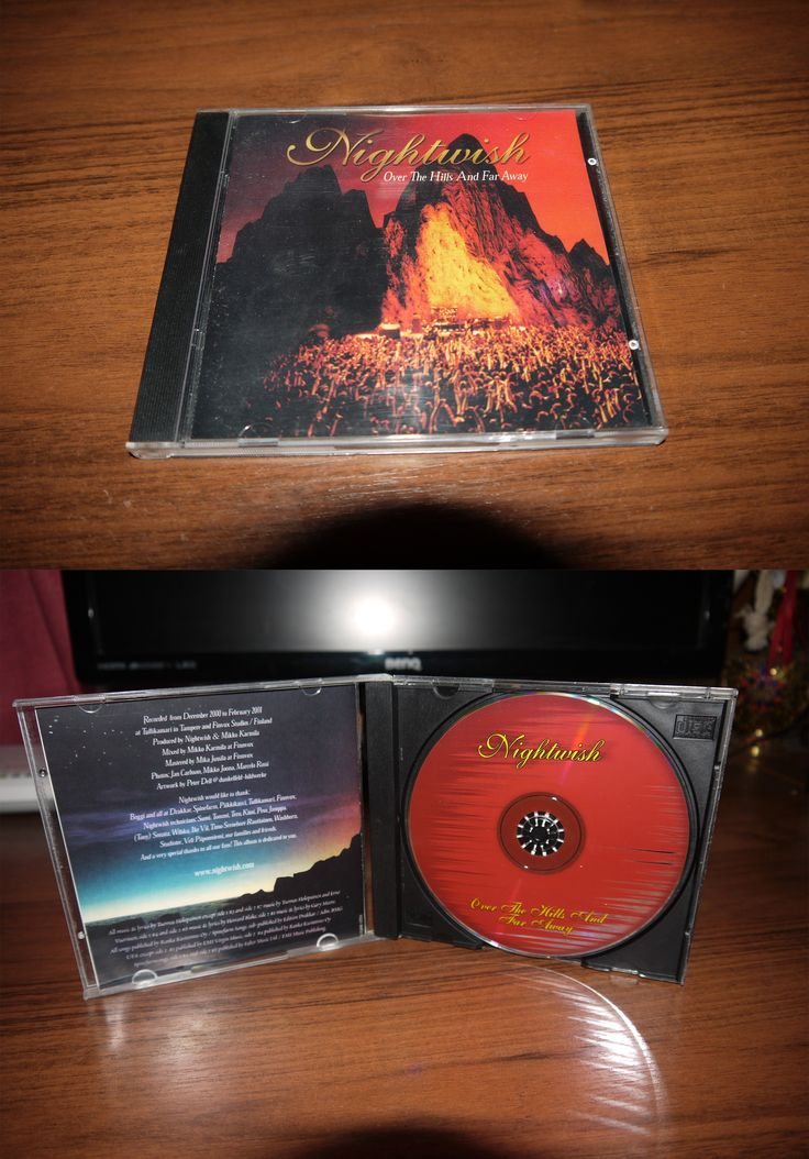Nightwish - Over the Hills and Far Away (2001 Spinefarm Records)