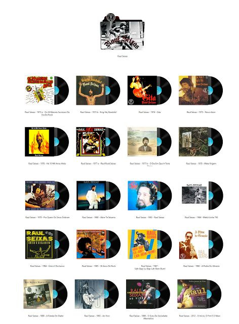 Album Art Icons: Raul Seixas