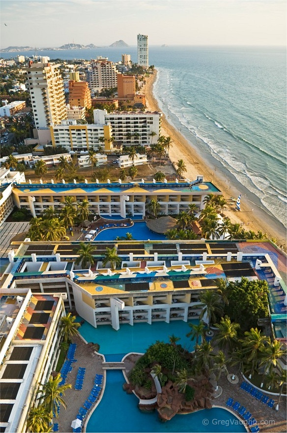 El Moro Tower of El Cid Resort, Mazatlan, Sinaloa, Mexico