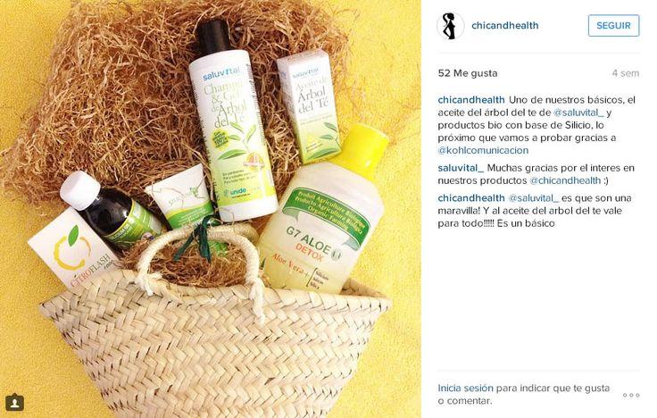 Instagram ChicAndHealth sobre el G7 Aloe Detox con silicio orgánico + aloe vera, Citroflash (para las defensas), silicio G5 Siliplant, gel G5 silicio orgánico Todos en venta en www.siliciumg5.com