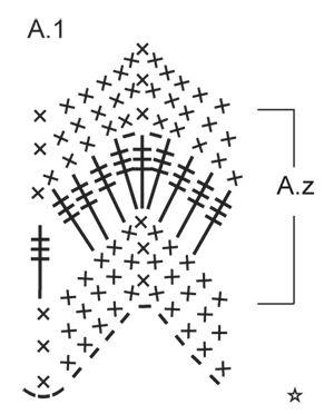 """Autumn Waves / DROPS 156-33 - Cuello de ganchillo DROPS con patrón de calados en """"Big Delight"""". - Free pattern by DROPS Design"""