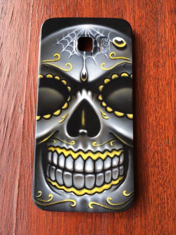 Samsung Galaxy S6 custom phone case Sugar Skull