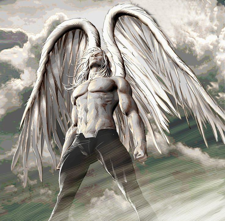 Картинка ангел мужские