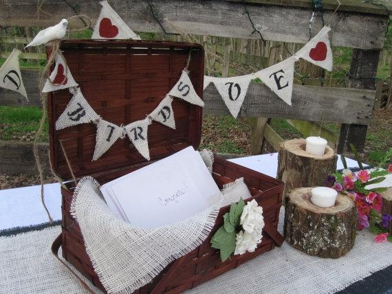 Vintage Wedding Basket