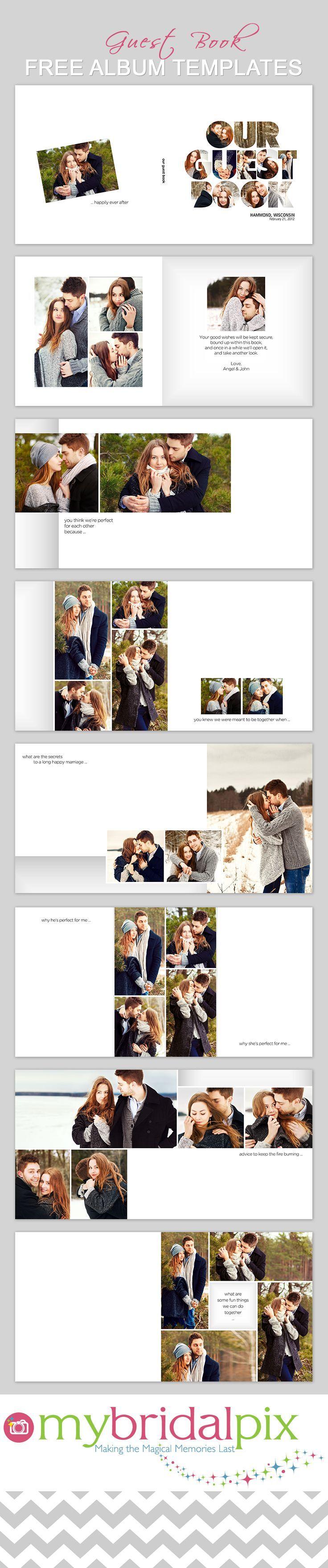 15 best Album Templates images on Pinterest   Wedding pics, Wedding ...