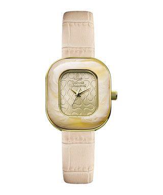 Tourte pink snake-effect leather watch Sale - Vivienne Westwood Sale