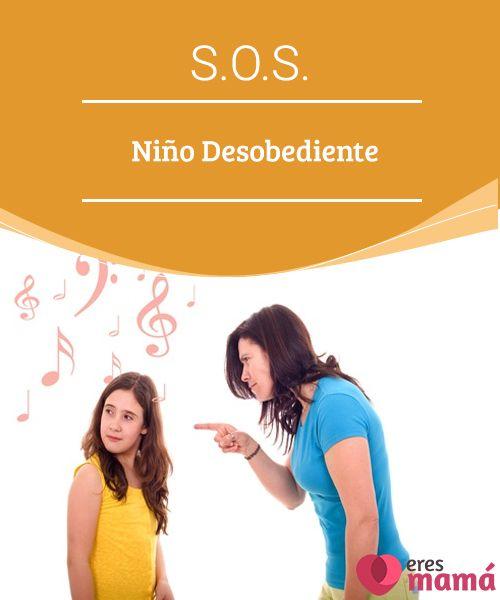 S.O.S. Niño Desobediente La educación de un niño desobediente se convierte en un reto para cualquier padre. ¿Por qué el niño es desobediente? ¿Cómo corregir su conducta?