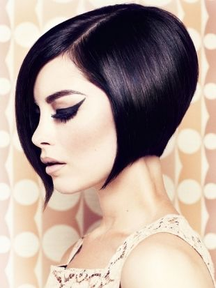 Wedge haircut with amazing shape